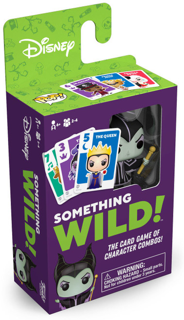 Funko Something Wild Signature Games Disney Villains Family Card Game