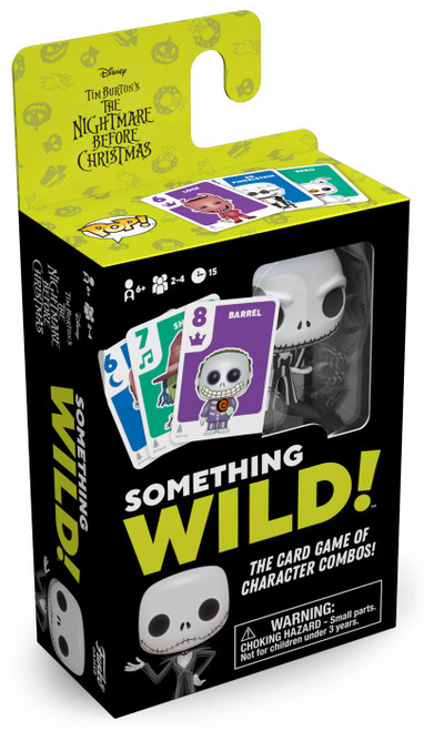 Funko Disney Something Wild The Nightmare Before Christmas Family Card Game
