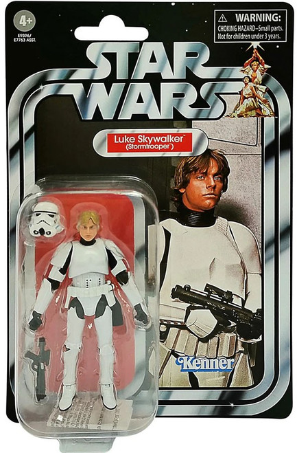 Star Wars Vintage Collection Luke Skywalker Action Figure [Stormtrooper]