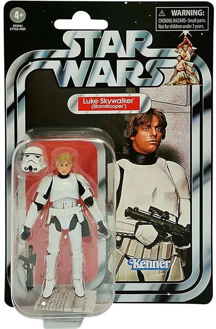 Star Wars 2020 Vintage Collection Wave 1 Luke Skywalker Action Figure [Stormtrooper]