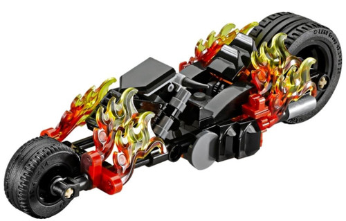 LEGO Marvel Super Heroes Ghost Rider's Motorcycle [Without Minifigures Loose]