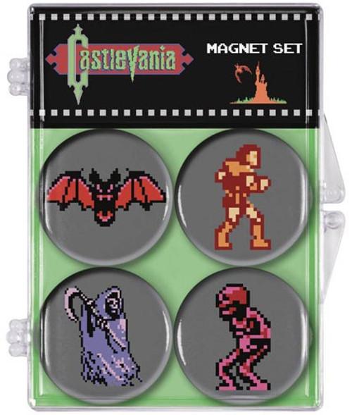 Castlevania 1.25-Inch Magnet 4-Pack [8-Bit]