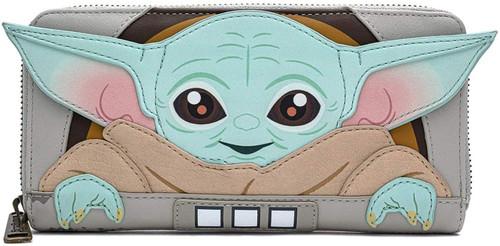 Star Wars The Mandalorian The Child Zip Around Wallet [Cradle]
