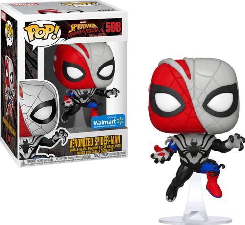 Funko Marvel Universe Maximum Venom POP! Marvel Venomized Spider-Man Exclusive Vinyl Figure #598