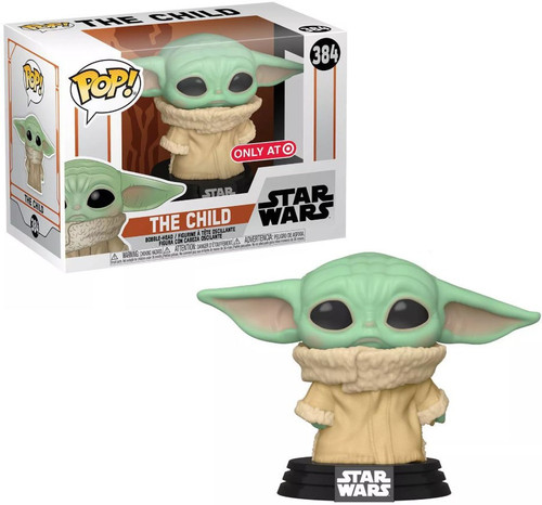 Funko The Mandalorian POP! Star Wars The Child (Baby Yoda / Grogu) Exclusive Vinyl Figure #384 [Concerned, Sad Look]
