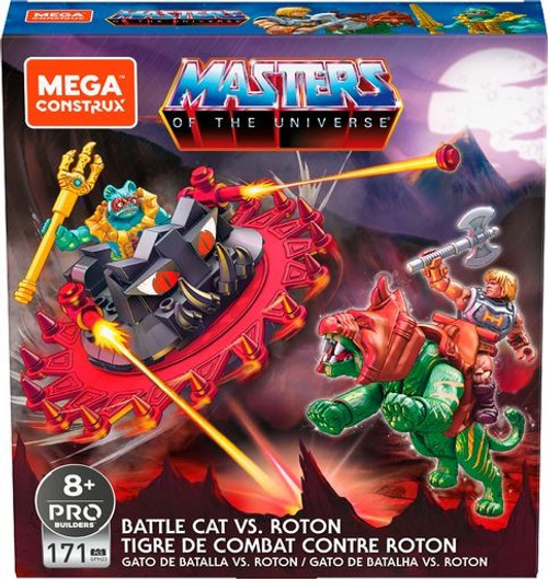 Mega Construx Masters of the Universe Battle Cat Vs. Roton Set