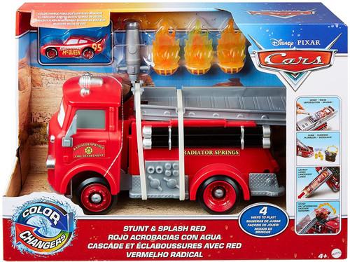 Disney / Pixar Cars Color Changers Stunt & Splash Red 10-Inch Playset [with Lightning McQueen]