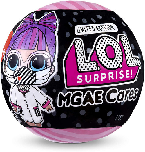 LOL Surprise 2020 LIMITED EDITION MGAE Cares Big Sister Covid-19 Frontline Hero Figure Pack