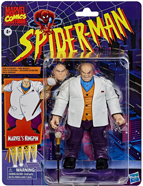 Spider-Man Marvel Legends Vintage (Retro) Series Kingpin Action Figure