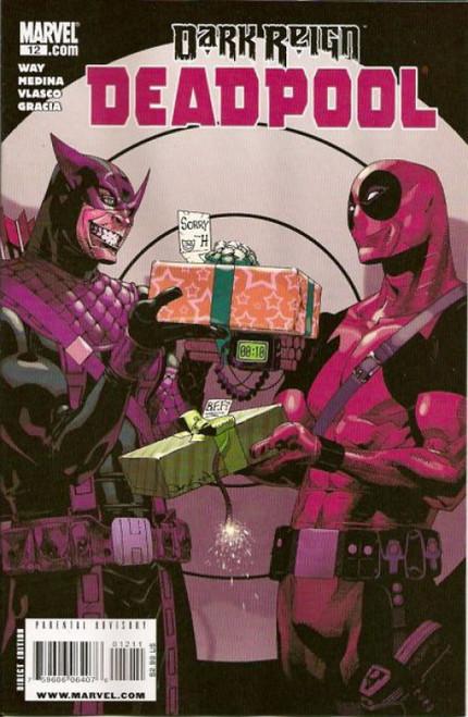 Marvel Deadpool, Vol. 3 #12A Comic Book
