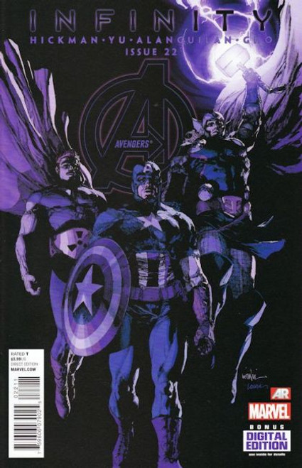 Marvel The Avengers, Vol. 5 #22A Comic Book