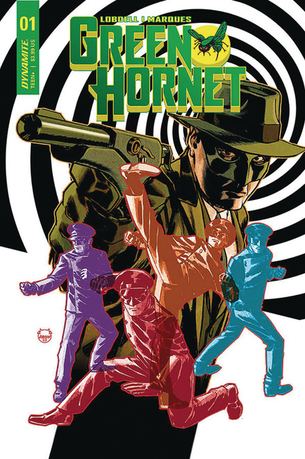 Dynamite Entertainment Green Hornet #1 Comic Book [Johnson Variant Cover B]