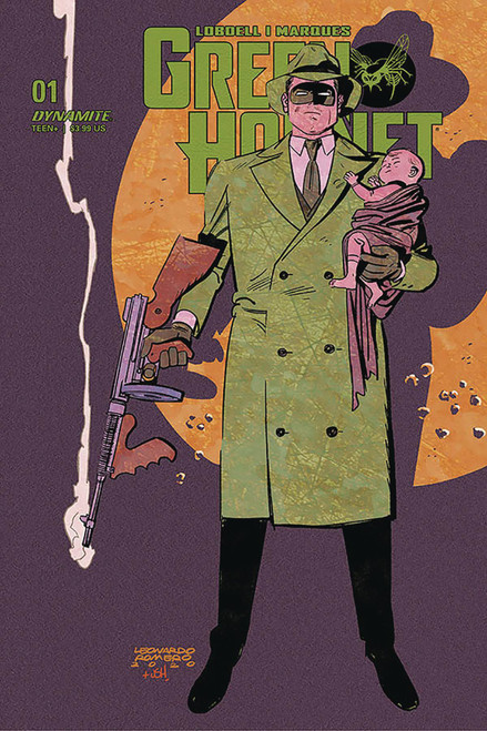 Dynamite Entertainment Green Hornet #1 Comic Book [Romero Variant Cover D]