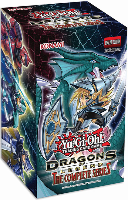 YuGiOh Trading Card Game Dragons of Legend The Complete Series BLASTER Box [2 Booster Packs & Promo Card!]