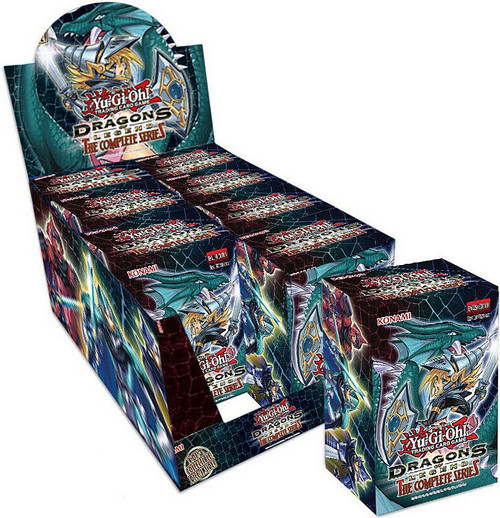 YuGiOh Trading Card Game Dragons of Legend The Complete Series BLASTER DISPLAY Box [8 Units]