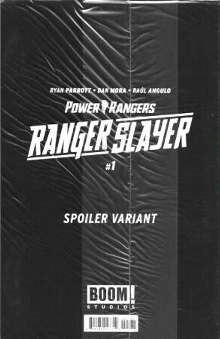 Boom Studios Power Rangers Ranger Slayer #1 Comic Book [Spoiler Variant]