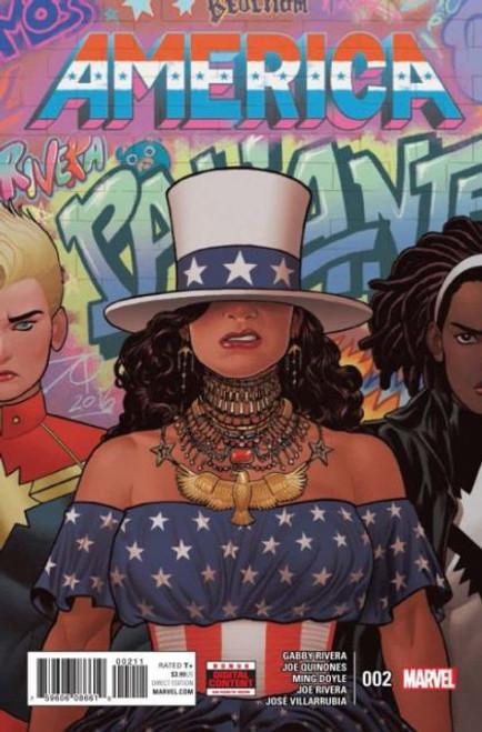 Marvel America #2A Comic Book