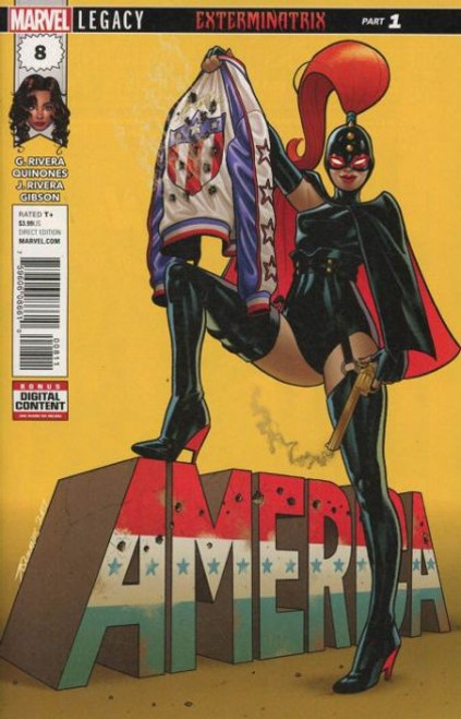 Marvel America #8A Comic Book