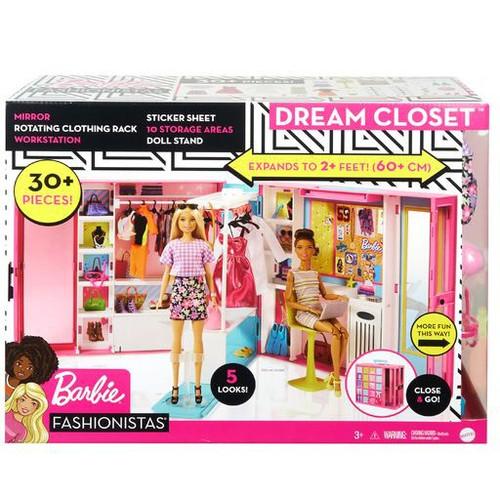 Barbie Dream Closet Play Set