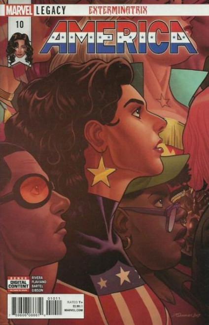 Marvel America #10 Comic Book