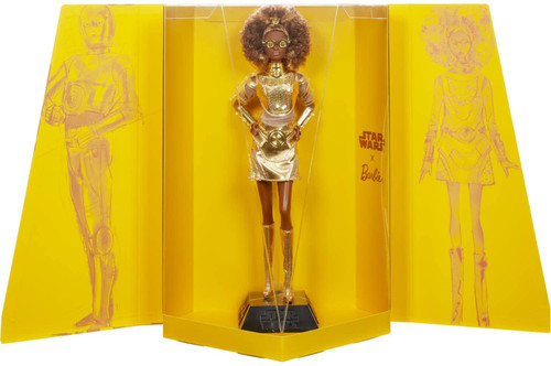Star Wars x Barbie Gold Label C-3P0 x Barbie Doll