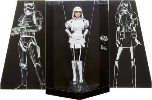 Star Wars x Barbie Gold Label Stormtrooper x Barbie Doll