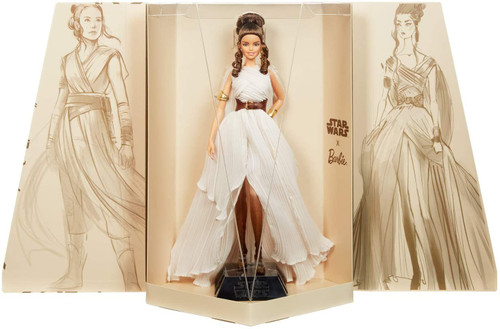 Star Wars x Barbie Gold Label Rey x Barbie Doll