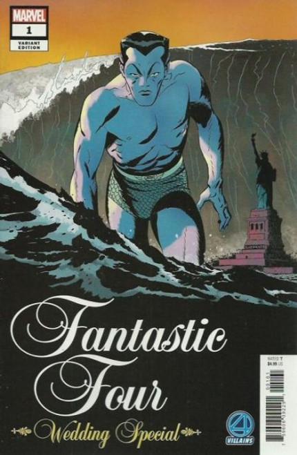 Marvel Fantastic Four: Wedding Special #1 Comic Book [Villains Variant]