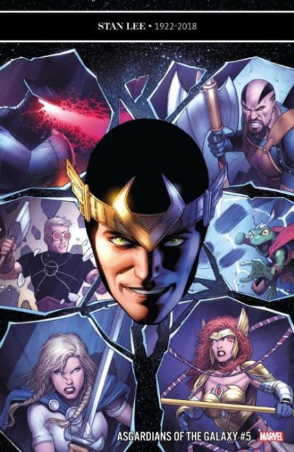 Marvel Asgardians of the Galaxy #5 Comic Book