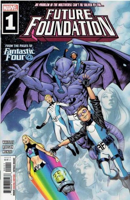 Marvel Future Foundation #1A Comic Book