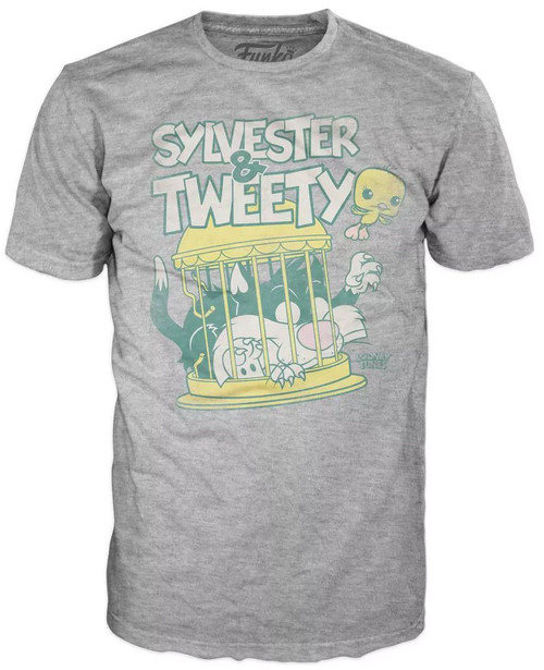 Funko Looney Tunes POP! Animation Sylvester & Tweety Exclusive T-Shirt [Large]