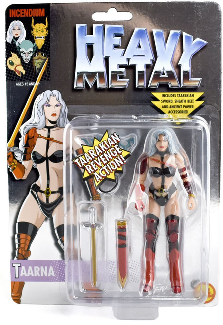 FigBiz Heavy Metal Taarna Action Figure [Chrome Carded, Limited Edition of 400]