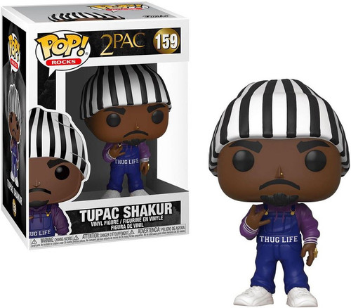 Funko POP! Rocks Tupac Shakur Exclusive Vinyl Figure #159 [Thug Life]