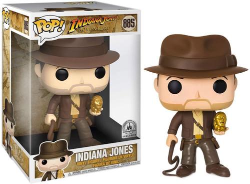 Funko POP! Movies Indiana Jones Exclusive 10-Inch Vinyl Figure #885 [Super-Sized]