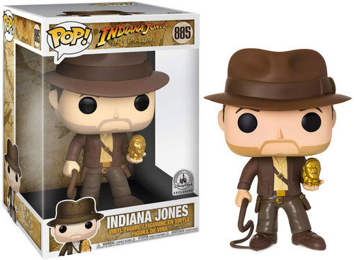 Funko POP! Movies Indiana Jones Exclusive 10-Inch Vinyl Figure #885 [Super-Sized]