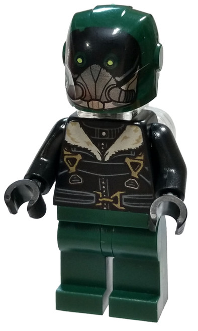 LEGO Marvel Spider-Man Homecoming Vulture Minifigure [Green Flight Suit Loose]