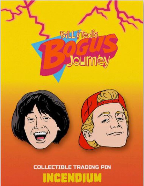 Bill & Ted's Bogus Journey Bill & Ted 2-Inch Set of 2 Lapel Pins (Pre-Order ships January)