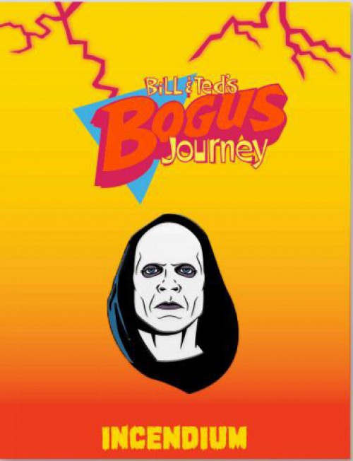 Bill & Ted's Bogus Journey Grimm Reaper 2-Inch Lapel Pin