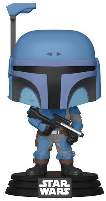 Funko The Mandalorian POP! Star Wars Death Watch Mandalorian Exclusive Vinyl Bobble Head [No Stripes]