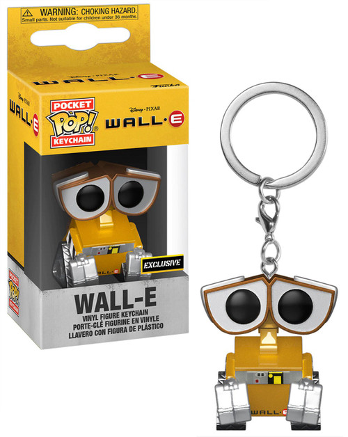 Funko Disney / Pixar Pocket POP! Wall-E Exclusive Keychain [Metallic]