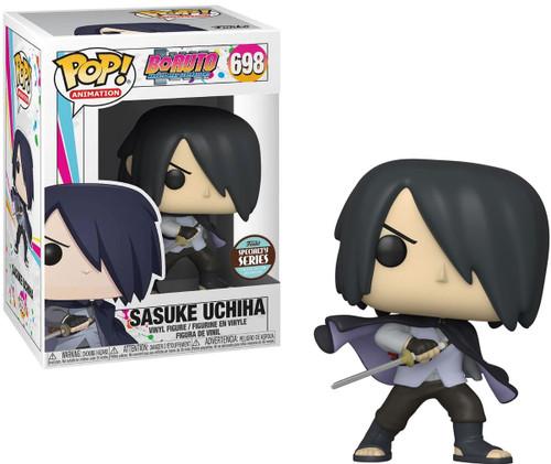 Funko Boruto Naruto Next Generations Pop! Animation Sasuke Uchiha Exclusive Specialty Series Vinyl Figure [Caped, 1 Arm]