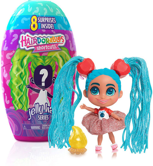 Hairdorables Shortcuts Series 2 (Jelly Hair) Mystery Pack