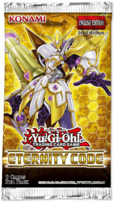 YuGiOh Trading Card Game Eternity Code Booster Pack [9 Cards]