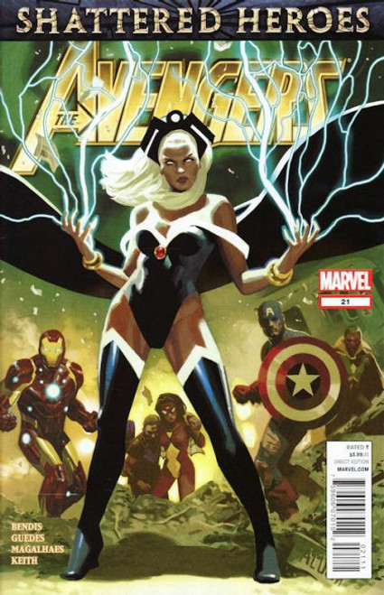 Marvel The Avengers, Vol. 4 #21A Comic Book