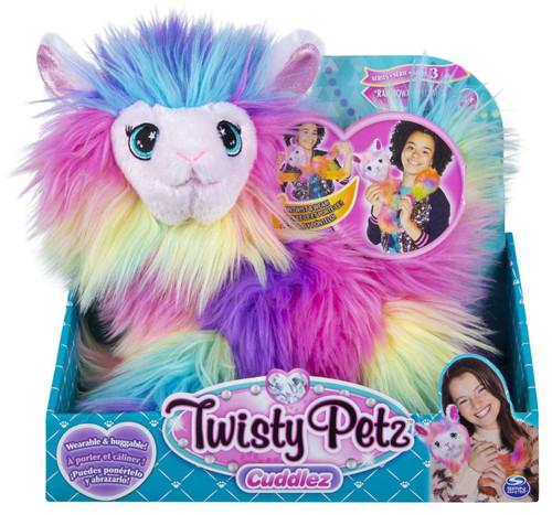 Twisty Petz Cuddlez Series 3 Rainbowama Llama Exclusive Plush