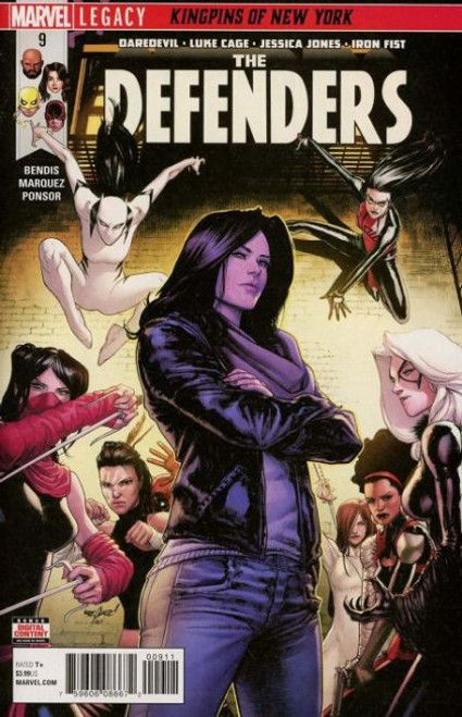Marvel The Defenders, Vol. 5 #9 Comic Book