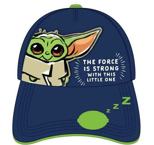 Star Wars The Mandalorian Baby Yoda / Grogu Cap [The Force is Strong with this Little One]