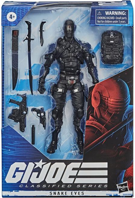 GI Joe Classified Series Wave 1 Snake Eyes Action Figure [Regular Version]