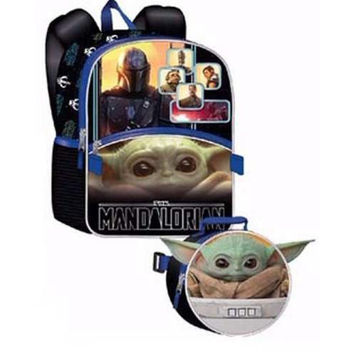 Star Wars The Mandalorian Baby Yoda / Grogu 16-Inch Backpack & Lunch Kit [The Child]