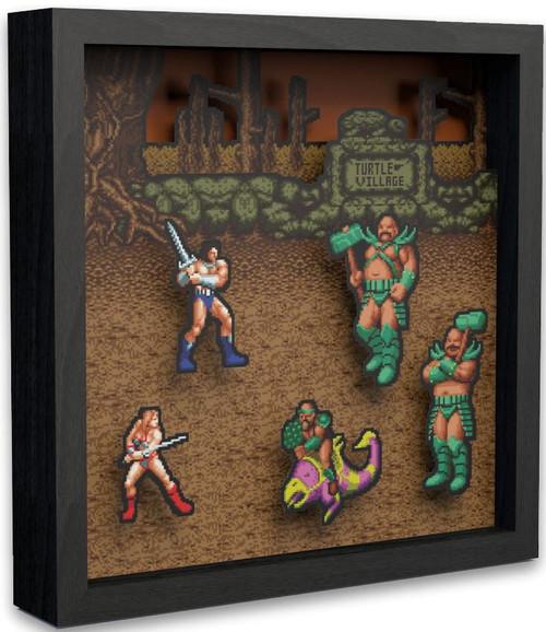 Sega Golden Axe Pixel Frames [9X9]